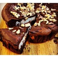 תמונה של עוגת שוקולד וקוקוס לפסח