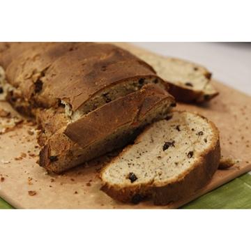 תמונה של לחם במלית טפנד זיתים