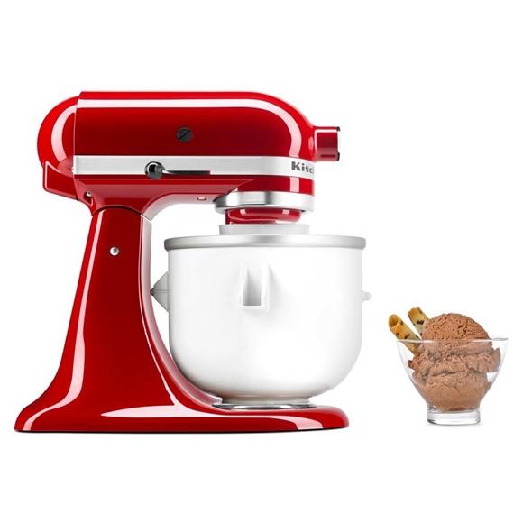תמונה של מכין גלידה למיקסר kitchenaid